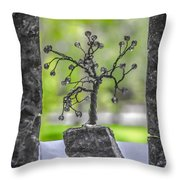 Little Pearl Tree II Throw Pillow
