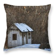 Little Play House Throw Pillow