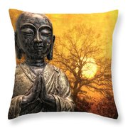 Little Prayer Throw Pillow