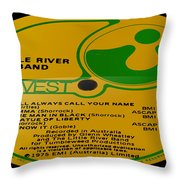 Little River Band Side 2 Throw Pillow