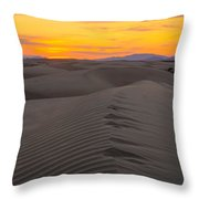 Little Sahara Throw Pillow