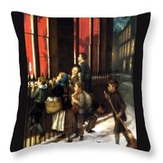 Little Spies Throw Pillow