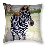 Little Stripes Throw Pillow