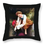 Little Thieves Details Throw Pillow
