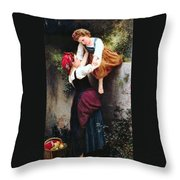 Little Thieves Throw Pillow