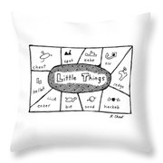 'little Things' Throw Pillow