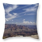 Little Tree...grand Canyon Throw Pillow