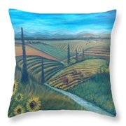 Little Tuscany Throw Pillow