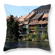 Little Venice - Bamberg - Germany Throw Pillow