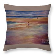 Little Wanderer Throw Pillow