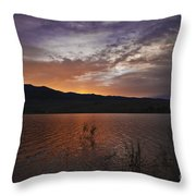 Little Washoe Sunset Throw Pillow