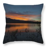 Little Washoe Sunset II Throw Pillow