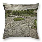 Littleton Mill Throw Pillow