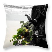 Live And Dead Throw Pillow