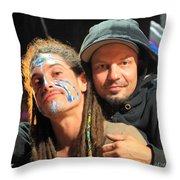 Live Artists Rw2k14 Throw Pillow