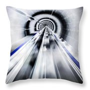 Live In The Future Throw Pillow