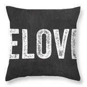 Live Love Eat Throw Pillow