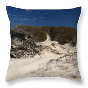 Lively Dunes Throw Pillow