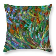Lively Throw Pillow