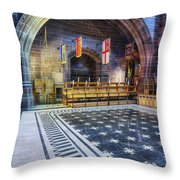 Liverpool Cathedral V2 Throw Pillow