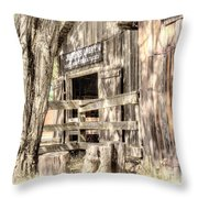 Livery Throw Pillow