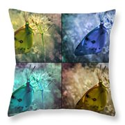 Lives Of A Butterfly Throw Pillow