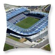 Livestrong Sporting Park Kansas City Kansas Throw Pillow