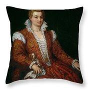 Livia Colonna Throw Pillow