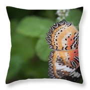 Living Color Throw Pillow