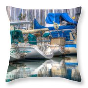 Living Throw Pillow