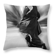 Living In Another World Throw Pillow