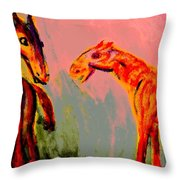 You Will Be Living In My Dreams  Throw Pillow