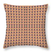 Living In The Pink - Tile Arrangement 1 Throw Pillow