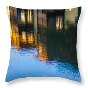Living On The Water - 3 Throw Pillow
