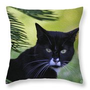 Living The Wild Life Throw Pillow