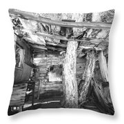 Living With Nature Throw Pillow