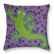 Lizard Lizard Throw Pillow