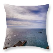 Lizard Point Cornwall Throw Pillow