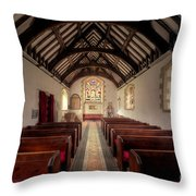 Llandysilio Traean Throw Pillow
