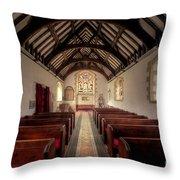 Llandysilio Traean Throw Pillow by Adrian Evans