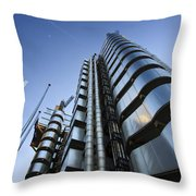 Lloyd's Building. Throw Pillow