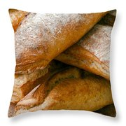 Loaves Throw Pillow