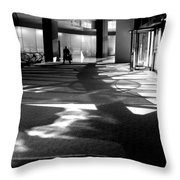 Lobby Of The Bow Throw Pillow