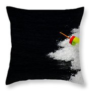 Lobster Marker Throw Pillow