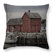 Lobster Shack - Rockport Throw Pillow