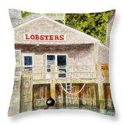 Lobster Shack Throw Pillow