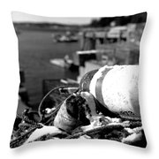 Lobster Traps 07 Throw Pillow