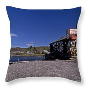 Lobsters Throw Pillow