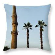 Local Cairo Mosque 02 Throw Pillow