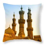 Local Cairo Mosque 05 Throw Pillow